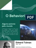 O Behaviorismo 03