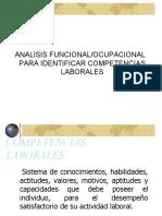analisis funcional para indetificar competencias