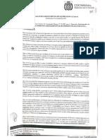 Resolución de Adjudicación de Cochabamba