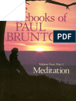 The Notebooks of Paul Brunton 04 - Meditation, The Body.epub