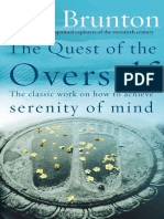Paul Brunton - The Quest of the Overself.epub