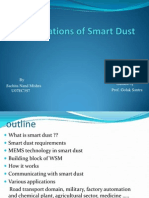 Applications of Smart Dust