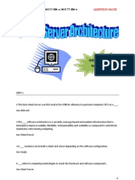 Client Server Architecture Question Bank