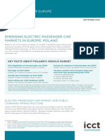Emerging electric passenger car markets in Europe