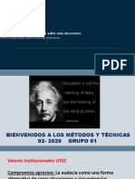 INTRODUCTION TO METHODS AND TECHNIQUES 02-2020 ES (1)