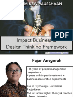 Selasa 19 Mei - Impact Business & Design Thinking