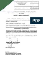FORMATO DE PERMISO DE MOVILIDAD DE LA ALCALDÍA NEW