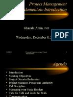 P#1-PM Fundamentals_Introduction