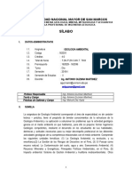 SILABO.GEOLOGIA AMBIENTAL E.P. ING. GEOLOGICA , 2019-1