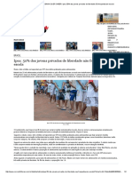 CORREIO _ O QUE A BAHIA QUER SABER_ Ipea_ 50% dos jovens privados de liberdade não frequentavam escola