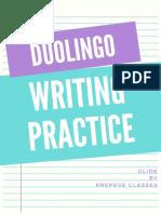 Practice Set - DuoLingo