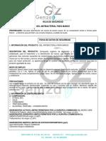 HOJA DE SEGURIDAD GEL ANTIBACTERIAL .pdf