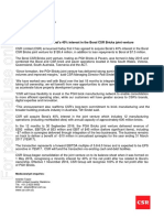 CSR acquires Boral interest in the Boral CSR Bricks JV 161031