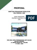 PROPOSAL PERALATAN MULTIMEDIA SMK 2009