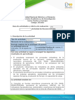 Guía de actividades y rúbrica de evaluación - Unidad 1- Paso 1 - Actividad de Reconocimiento .docx