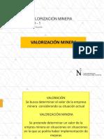 Semana 3. Valoracion y Funcionamiento de mercados mineros