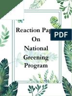 Reaction-paper