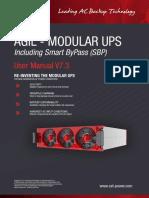 CET Power- Agil modular UPS - User Manual - v7.4