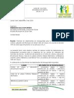 solicitud implementos de bioseguridad