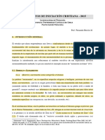 NOTAS INICIACION CRISTIANA - APUNTES 2015 (1-15)