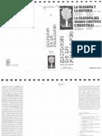 Francois Chatelet-filoaofia y La Historia