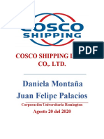 COSCO SHIPPING LINES CO