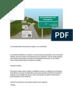 Los 4 principales tipos de transporte en Logística y sus características