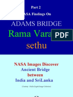 Part 2 (Nasa Findings) Setu Samudram Project Ramavaradhi Adams Bridge
