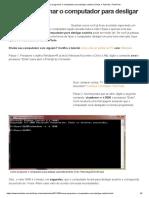 Como programar o computador para desligar sozinho _ Dicas e Tutoriais _ TechTudo