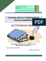 4. EL PARRAFO ACTIVIDAD GRUPAL