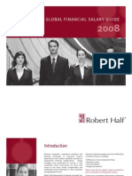 2008 Robert Half Global Financial Salary Guide