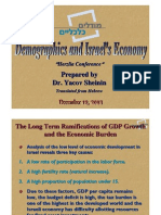 Demographics and Israels Economy