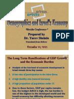 Demographics and Israels Economy