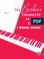 Boris Berlin's Complete Scale and Chord Book For Piano (1958)