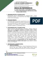 TDR POLICIA COMUNITARIO