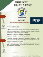 Hospitalitos de la Fe PVC-Etapas