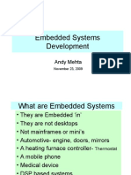 Embedded Systems Development Rev A