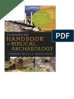 J. R. Price y W. H. House - Manual Zondervan de Arqueologia Bíblica