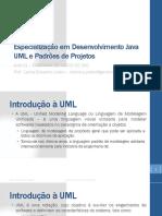 UML E PADRÕES DE PROJETO - AULA01