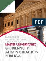 Gobierno y Administracion Publica - Universidad complutense de Madrid