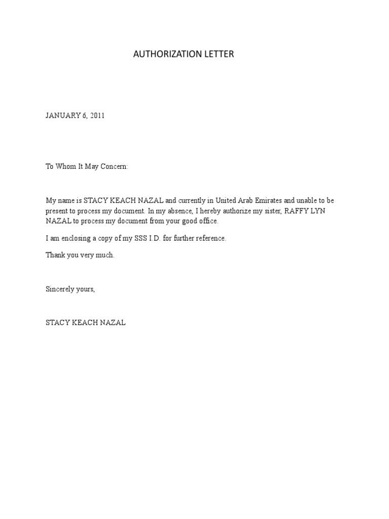 1500559290 – Authorization Letter Sample