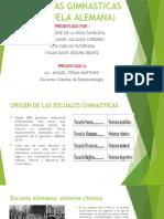 ESCUELAS GIMNASTICAS ( ESCUELA ALEMANA)