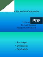 Farah_TP_Roches_carbonat_es_gres_.pdf;filename_= UTF-8''Farah TP (Roches carbonatées+gres)