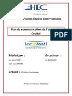 Plan de communication CEVITAL