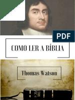 Como Ler a Biblia - Thomas Watson-1