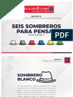 2. SESION IV CADA SOMBRERO ES UN ESTILO DIFERENTE DE PENSAMIENTO.pdf