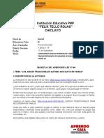 PSICOMOTRICIDAD 06 II SEMESTRE