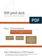 IHS pitch deck