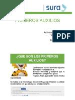 CHARLA PRIMEROS AUXILIOS SURA