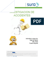 CHARLA INVESTIGACION DE ACCIDENTES SURA